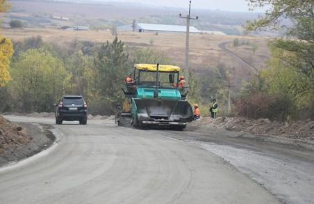 На Харківщині обіцяють відремонтують до кінця року дорогу Ізюм – Барвінкове