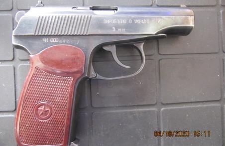 Зброя з набоями в багажнику авто — слобожанські митники виявили порушника на Гоптівці