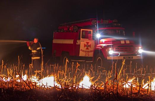 На Харківщині за добу вигоріло 120 гектарів сухостою (ФОТО, ВІДЕО)