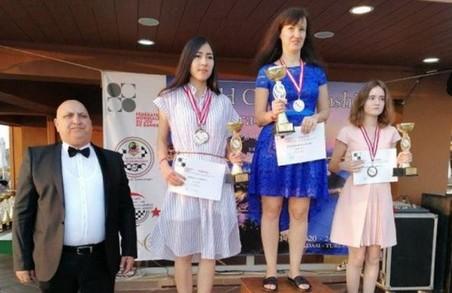 Харків'янка стала триразовою чемпіонкою світу з шашок