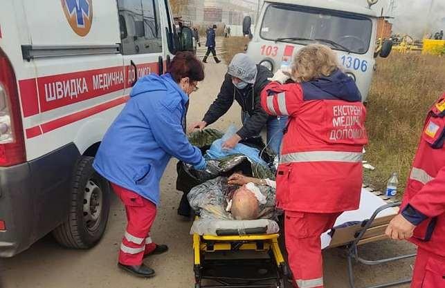 Вибух під Харковом: є загиблі та поранені (ФОТО)