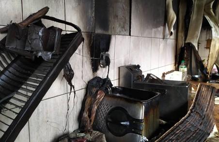 Під Харковом через коротке замкнення трапилась пожежа у кафе (ФОТО)