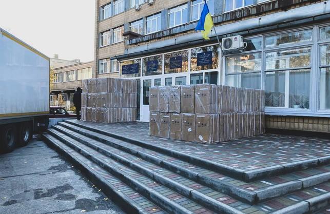 Харківщина отримала закуплені державним коштом 370 кисневих концентраторів