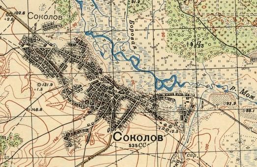 Фортеця Соколов: заснування та перші роки існування