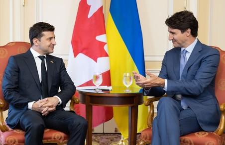 Джастін Трюдо обіцяє Україні, що підтримка Канадою суверенітету України ніколи не похитнеться
