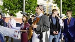 У Харкові «вигулювали» вишиванки (ВІДЕО, ФОТО)