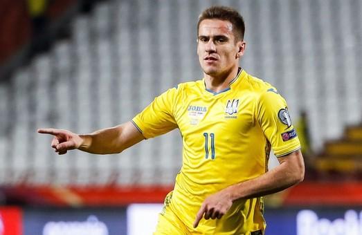 Андрій Шевченко вніс у заявку на Євро-2020 футболіста з Харкова