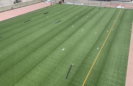 У Харкові проводяться масштабні роботи з укладання газону на полях Дитячої футбольної академії «Металіста» (ВІДЕО)