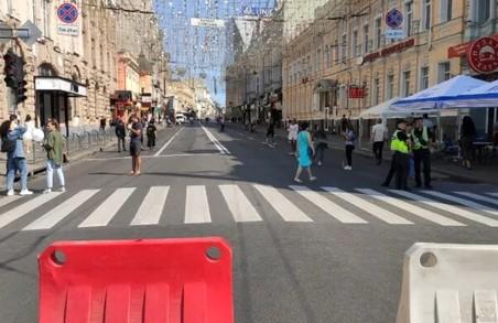 У Харкові перекрили центральну вулицю: що трапилося